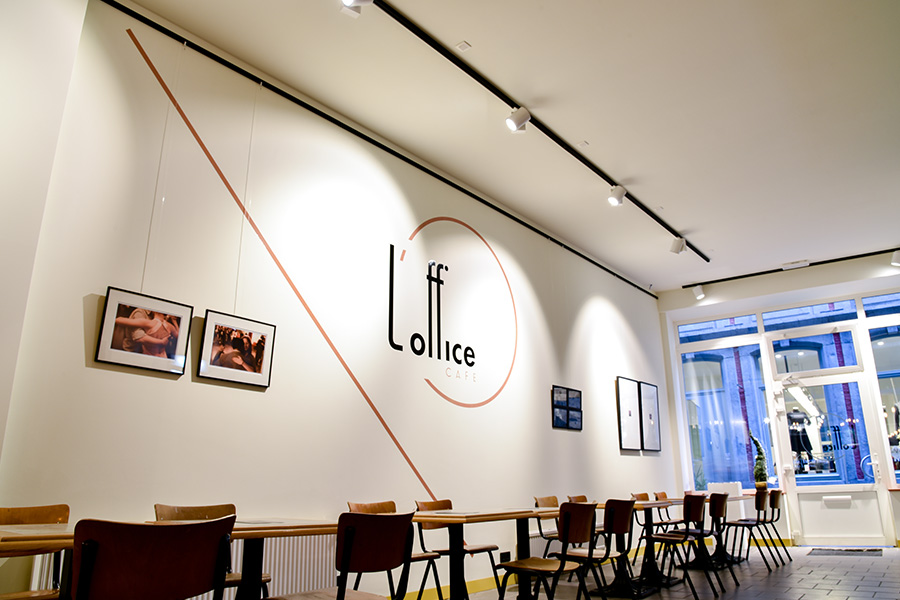 photo du projet L'office, coworking café